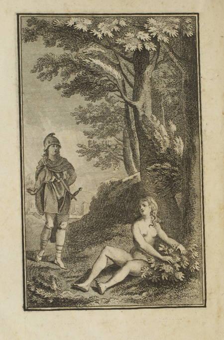 MAMIN. Amours d'Ulysse et de Circé, livre ancien du XVIIIe siècle