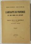 DAVID (Jean Marc). L'amirauté de Provence et des mers du Levant. Thèse pour le doctorat