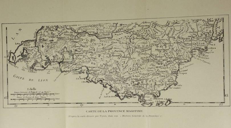 DAVID - L amirauté de Provence et des mers du Levant. Thèse - 1942 - Rare - Photo 1, livre rare du XXe siècle