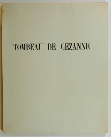 Tombeau de Cézanne - 23 octobre 1956 - Numéroté - Photo 0 - livre d'occasion