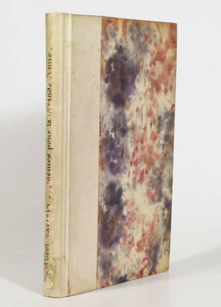 SAMAIN (Albert). Poèmes pour la grande amie, livre rare du XXe siècle