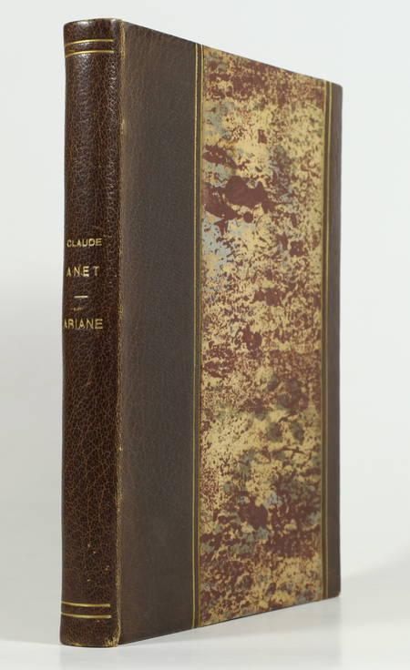Claude ANET - Ariane, jeune fille russe - 1924 - Bois de Jean Lébédeff - Photo 0, livre rare du XXe siècle