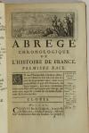 Nouvel abrégé chronologique de l histoire de France - 1756 - 2 volumes - Photo 2 - livre d occasion