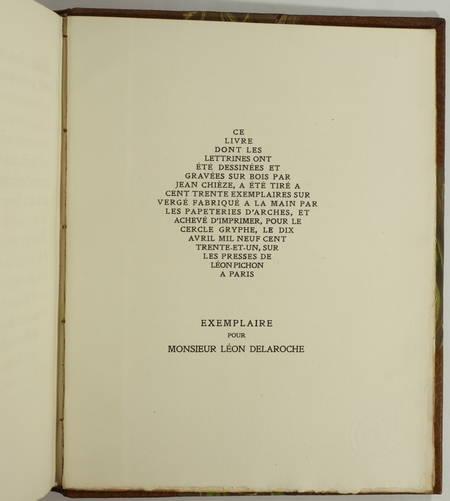 Le roman de Jehan de Paris, roy de France - 1931 - Dos mosaïqué - Maroquin - Photo 2, livre rare du XXe siècle