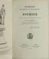 ORLEANS - FREMONT - Recherches historiques et biographiques sur Pothier - 1859 - Photo 1, livre rare du XIXe siècle