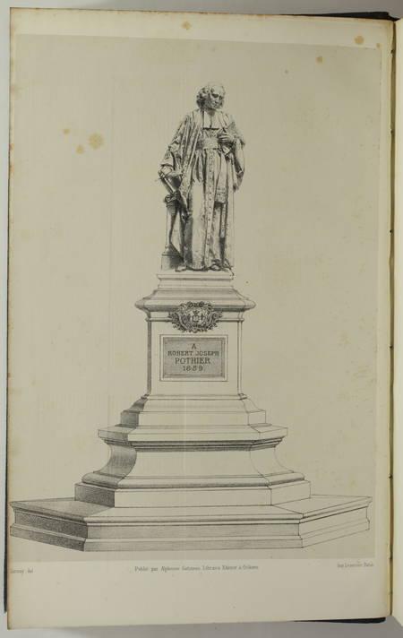 ORLEANS - FREMONT - Recherches historiques et biographiques sur Pothier - 1859 - Photo 2, livre rare du XIXe siècle