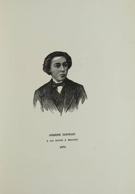 CONRAD (Joseph). Des souvenirs, livre rare du XXe siècle