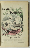 MURGER - La vie de bohème - (1877) - Illustrations en couleurs de André Gill - Photo 2 - livre de collection