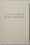 [Martinique] DERENNES La vie et la mort de M. de Tournèves 1961 - Henry Lemarié - Photo 4 - livre du XXe siècle