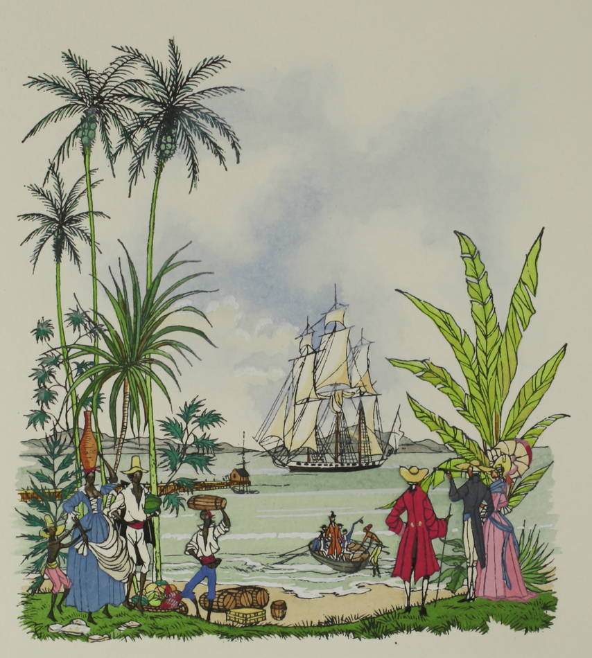 [Martinique] DERENNES La vie et la mort de M. de Tournèves 1961 - Henry Lemarié - Photo 5 - livre du XXe siècle