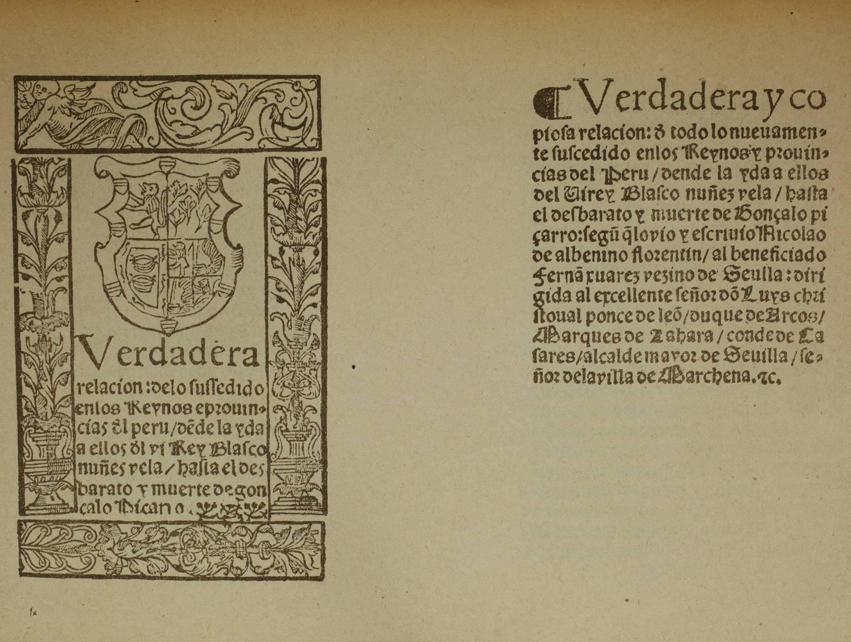 ALBENINO - Relacion prouincias del Peru y muerte de Gonçalo Piçarro (1549) 1930 - Photo 0, livre rare du XXe siècle