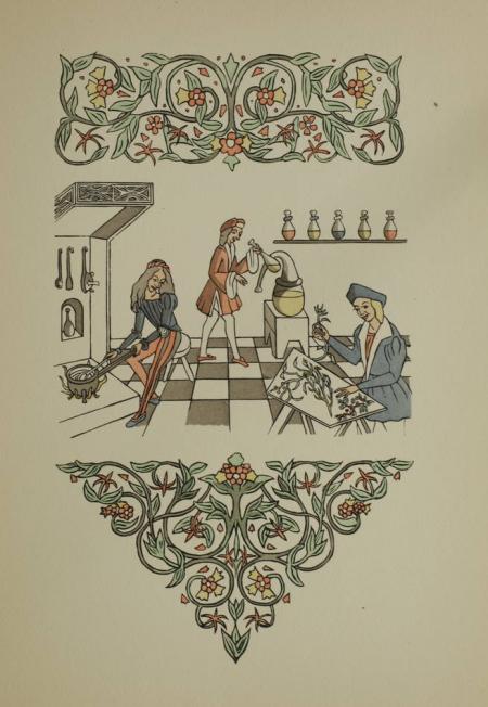 MONT VERT (Maistre Raoul du). Les fleurs et secretz de médecine, livre rare du XXe siècle