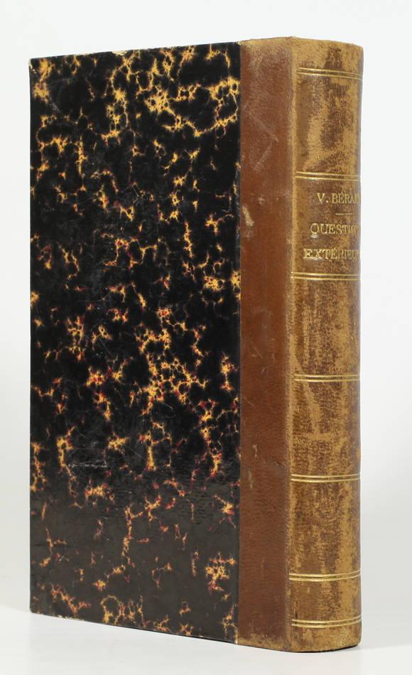 Victor BERARD - Questions extérieures (1901-1902) : Turquie, Panama, ... - Photo 0 - livre du XXe siècle