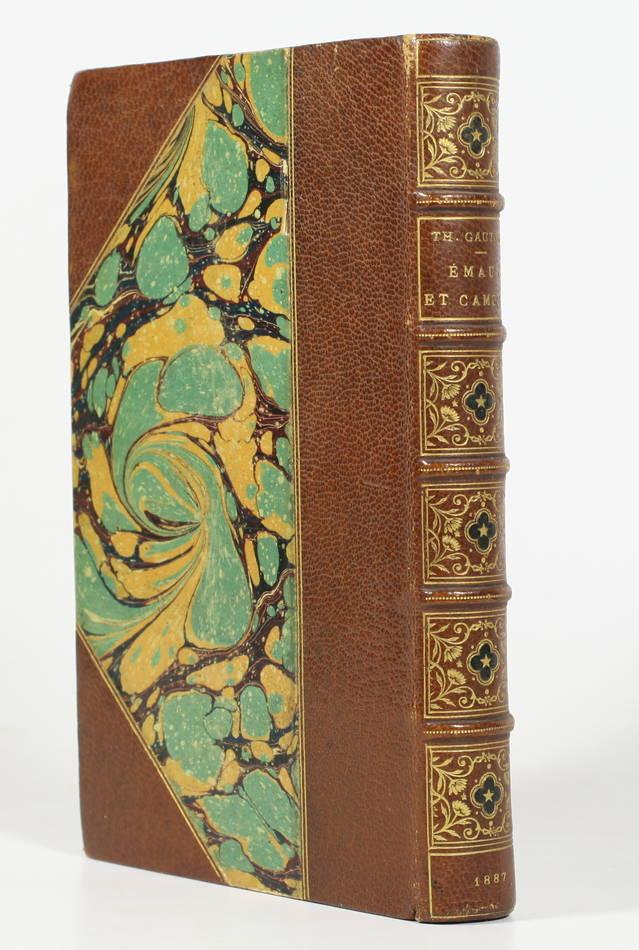 Théophile GAUTHIER - Emaux et camées - 1887 - Avec la prime aux souscripteurs - Photo 0 - livre du XIXe siècle