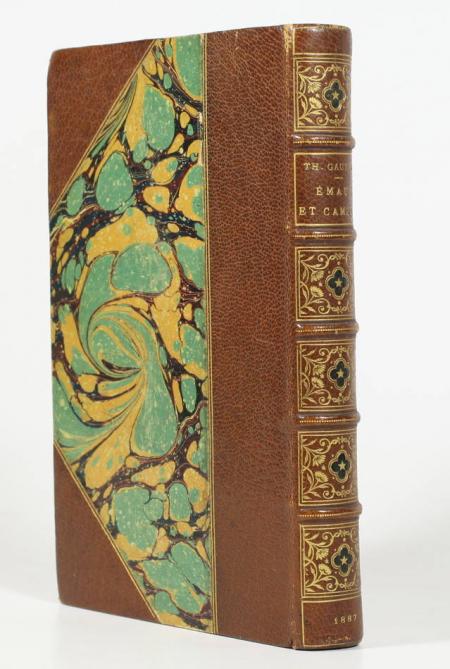 GAUTIER (Théophile). Emaux et camées, livre rare du XIXe siècle