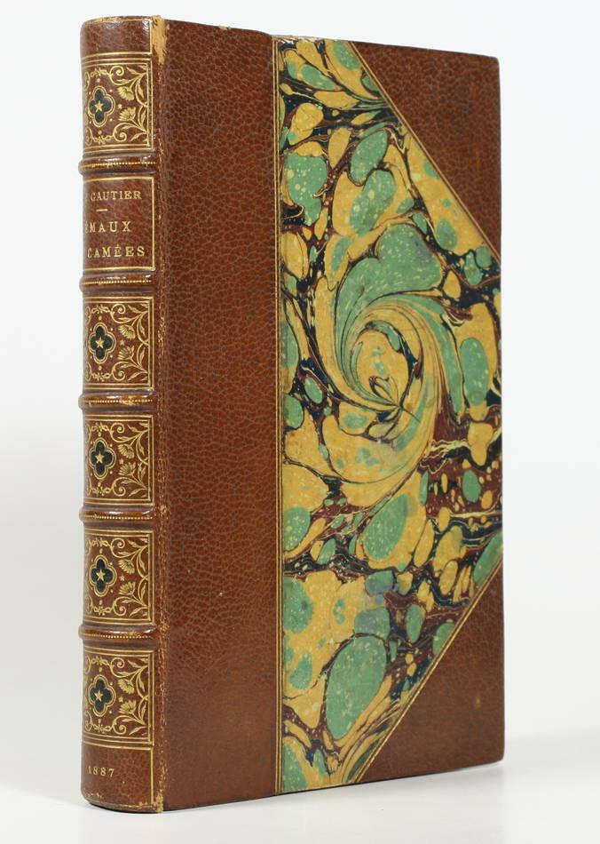 Théophile GAUTHIER - Emaux et camées  - 1887 - Avec la prime aux souscripteurs - Photo 2, livre rare du XIXe siècle