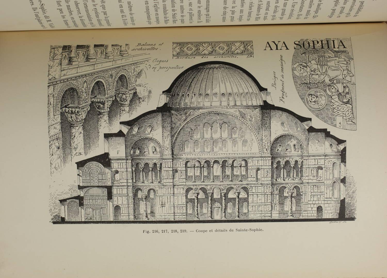 BARBEROT - Histoire des styles d architecture dans tous les pays - 1891 - 2 vols - Photo 1, livre rare du XIXe siècle