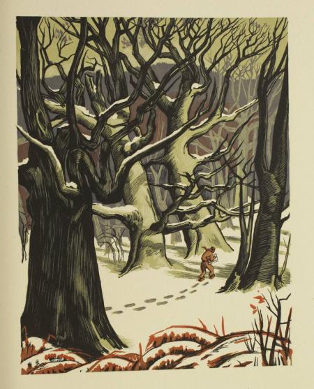 DALMONT [DALMON] (Henri). Fontainebleau, antique forêt de Bierre, livre rare du XXe siècle