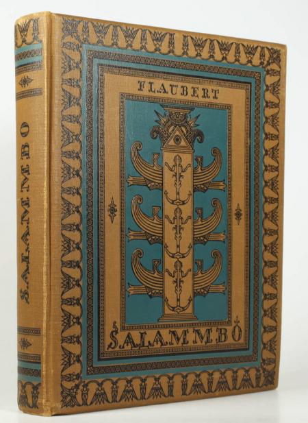 FLAUBERT (Gustave). Salammbô, livre rare du XXe siècle