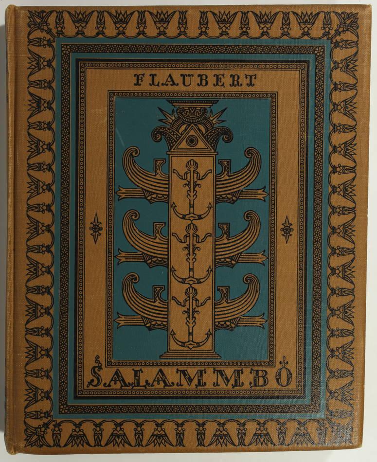 FLAUBERT - Salammbô - 1924 - 30 eaux-fortes de Fritz Heubner - Photo 2, livre rare du XXe siècle