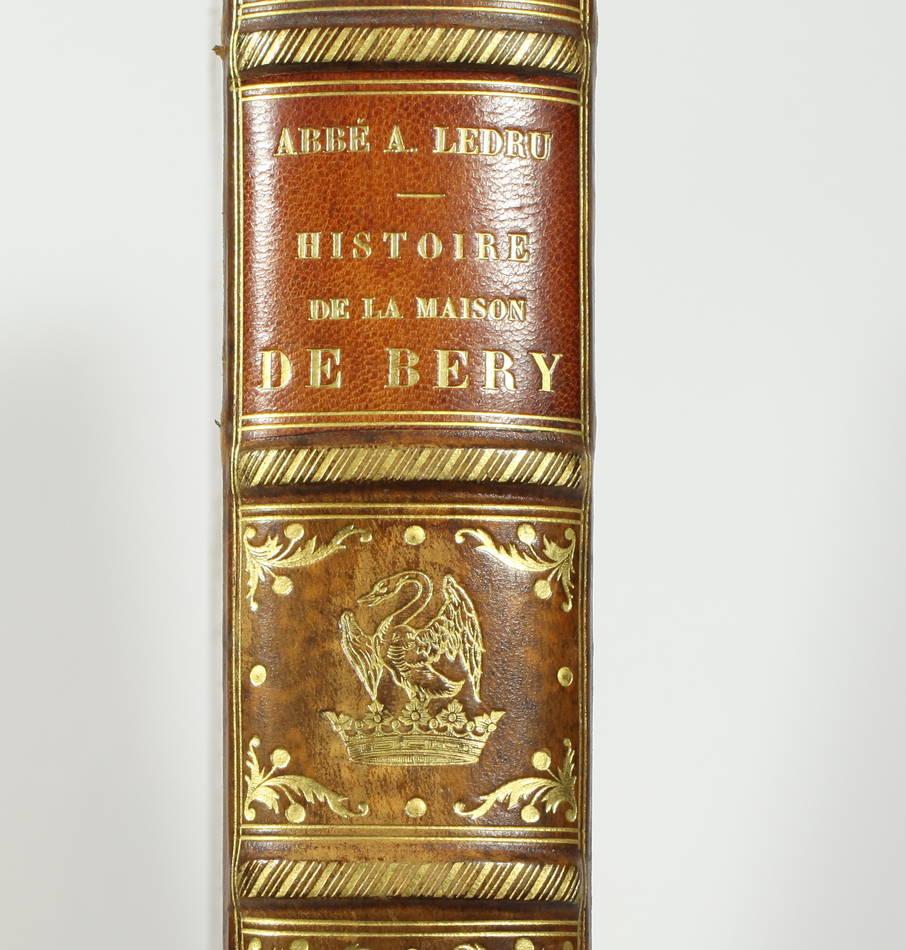 [Généalogie Picardie] LEDRU - Histoire de la maison de Bery - 1902 - Photo 0 - livre de bibliophilie