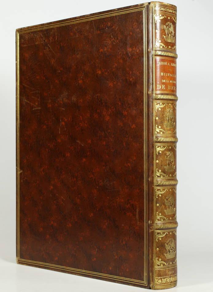 [Généalogie Picardie] LEDRU - Histoire de la maison de Bery - 1902 - Photo 1 - livre de bibliophilie