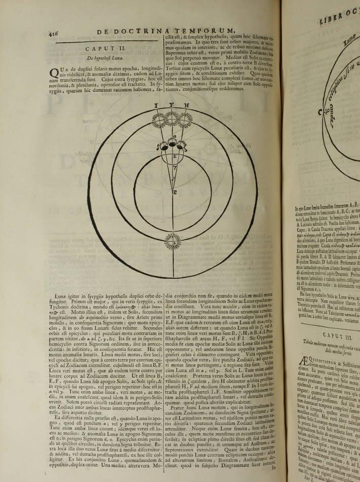 PETAU - Opus de doctrina temporum - 1705 - Plein vélin hollandais - 3 tomes en 1 - Photo 9 - livre rare