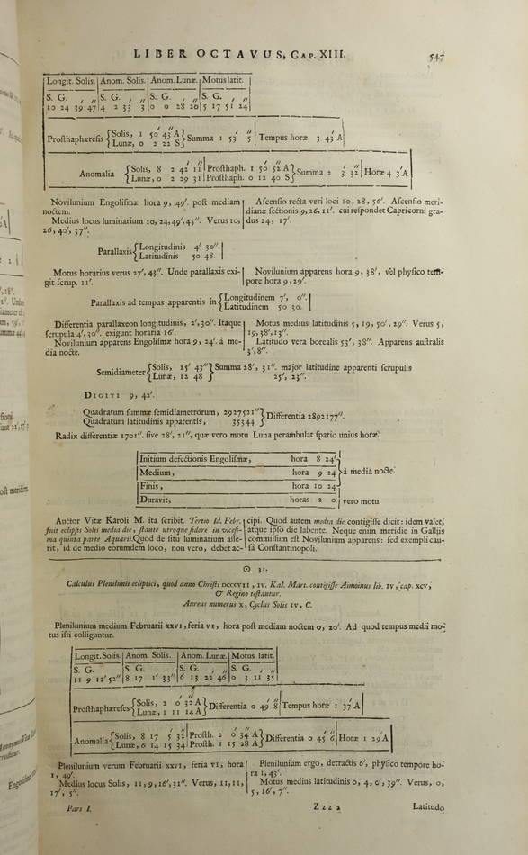 PETAU - Opus de doctrina temporum - 1705 - Plein vélin hollandais - 3 tomes en 1 - Photo 5 - livre rare