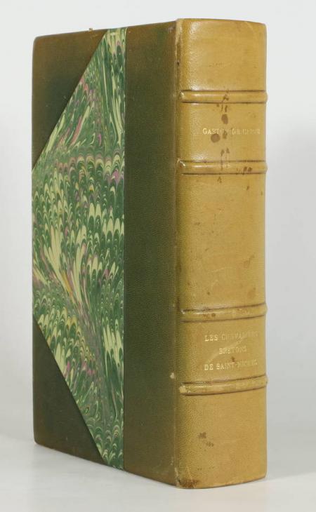 HOZIER (Comte d') et CARNE (Gaston de). Les chevaliers bretons de Saint-Michel. Depuis la fondation de l'ordre, en 1469, jusqu'à l'ordonnance de 1665. Notices recueillies par Le Comte d'Hozier, publiées, avec une préface et des notes par Gaston de Carné