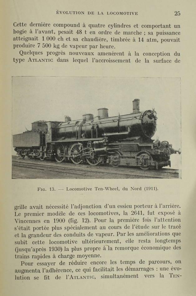 [Trains] DEVERNAY - La locomotive actuelle - 1942 - 461 figures - Photo 0 - livre d occasion