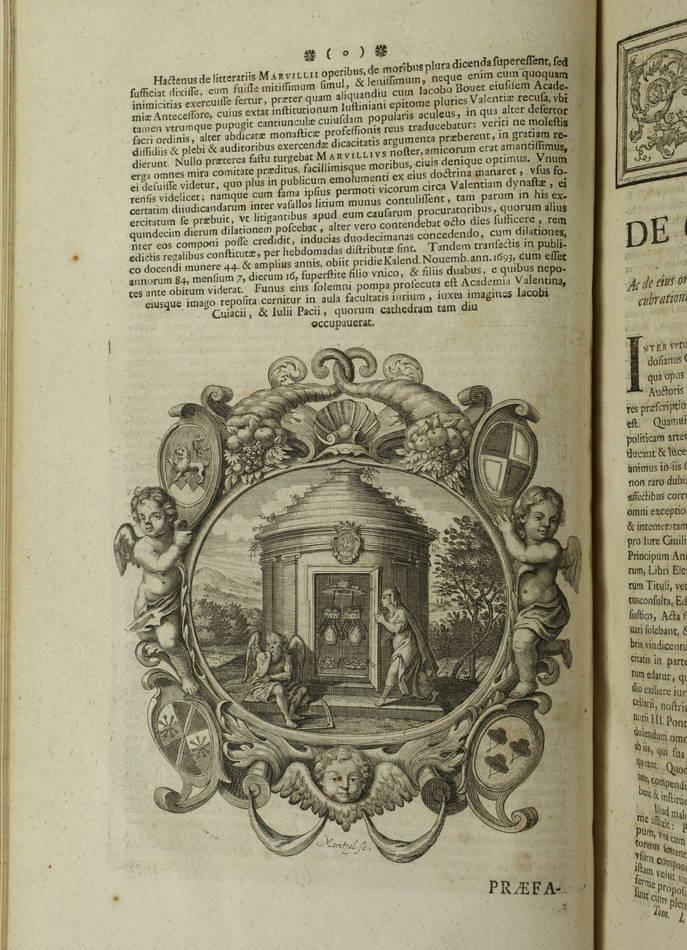 Code Théodosien - 1736- 1745 - 6 tomes reliés en 4 volumes - Rare - Photo 11 - livre de collection