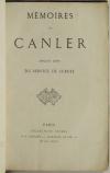 . Mémoires de Canler, ancien chef du service de sureté