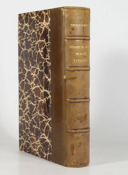 PRUSSE (Louise de, princesse Antoine Radziwill). Quarante-cinq années de ma vie (1770 à 1815). Publié avec des annotations et un index biographique par la princesse Radziwil née Castellane