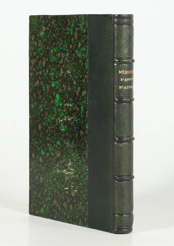 AUBIGNE - Mémoires d Agrippa d Aubigné - Librairie des Bibliophiles, 1889 - Photo 0 - livre d occasion