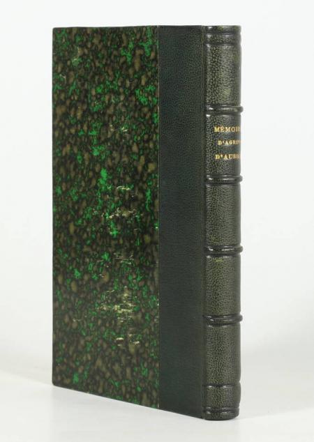 AUBIGNE (Théodore Aggripa d'). Mémoires d'Agrippa d'Aubigné