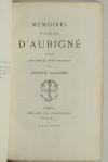 AUBIGNE - Mémoires d Agrippa d Aubigné - Librairie des Bibliophiles, 1889 - Photo 1 - livre d occasion