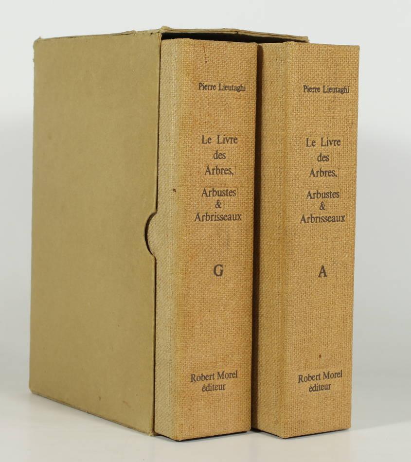 LIEUTAGHI - Le livre des arbres, arbustes et arbrisseaux - 1969 - 2 volumes - Photo 0 - livre d occasion
