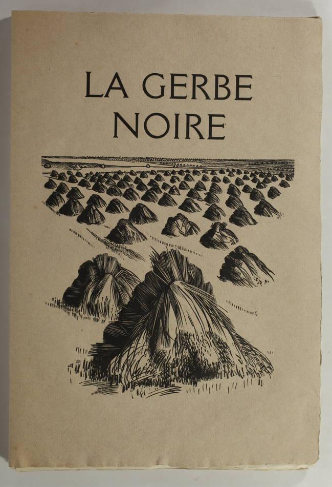 Louis-Joseph Soulas - La gerbe noire - (1935) - Gravures - Bois et burins - 1/85 - Photo 2 - livre moderne