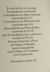 Louis-Joseph Soulas - La gerbe noire - (1935) - Gravures - Bois et burins - 1/85 - Photo 3 - livre moderne