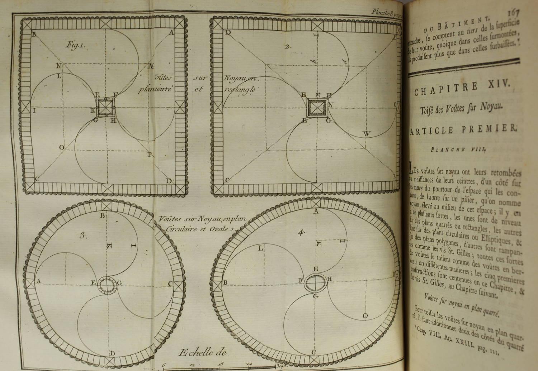 GINET - Toisé général du bâtiment, concernant la maçonnerie ... 1761 - Planches - Photo 4, livre ancien du XVIIIe siècle