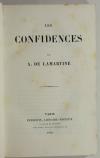 LAMARTINE - Les confidences - 1849 - EO - Première ed. de Graziella - Photo 1 - livre de bibliophilie