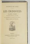 LECONTE DE LISLE - Les Erinnyes - Lemerre, 1873 - EO - 1/2 maroquin - Photo 1 - livre de collection
