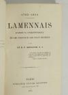 MERCIER - Lamennais d après sa correspondance (1782-1854) - 1895 - Photo 1 - livre de collection