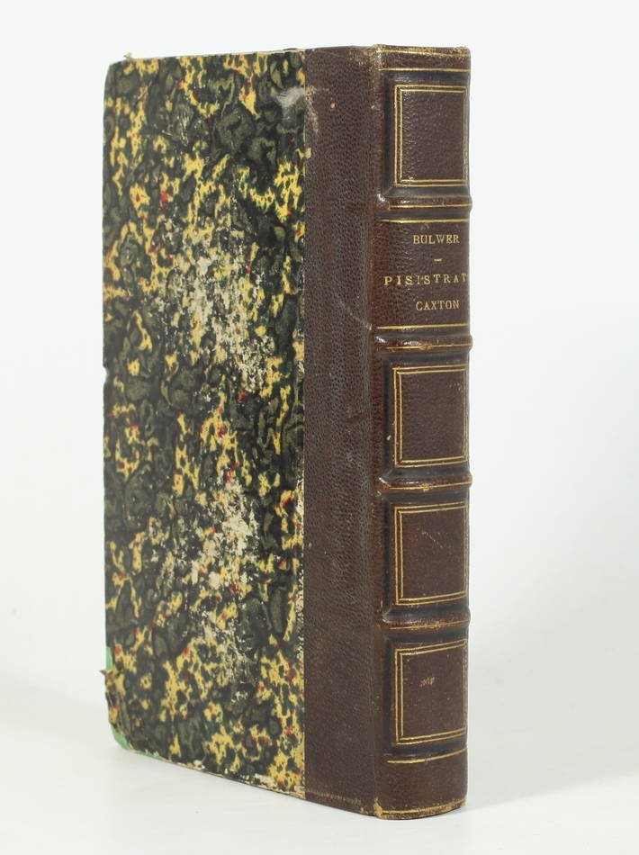BULWER - Aventures de Pisistrate Caxton - 1860 - Première traduction - Photo 0, livre rare du XIXe siècle