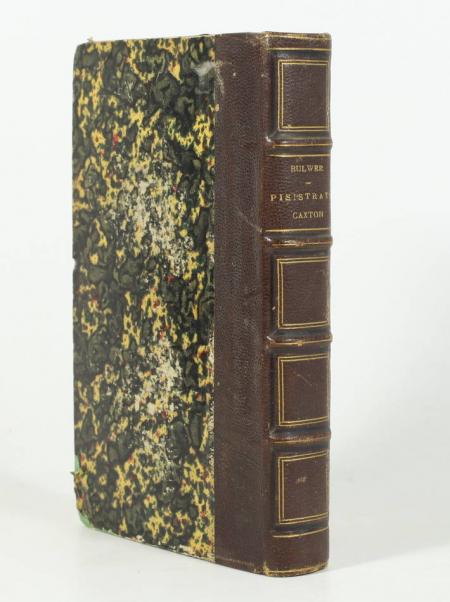 BULWER (Sir E. L.). Aventures de Pisistrate Caxton. Roman anglais traduit avec l'autorisation de l'auteur par Edouard Scheffter, livre rare du XIXe siècle
