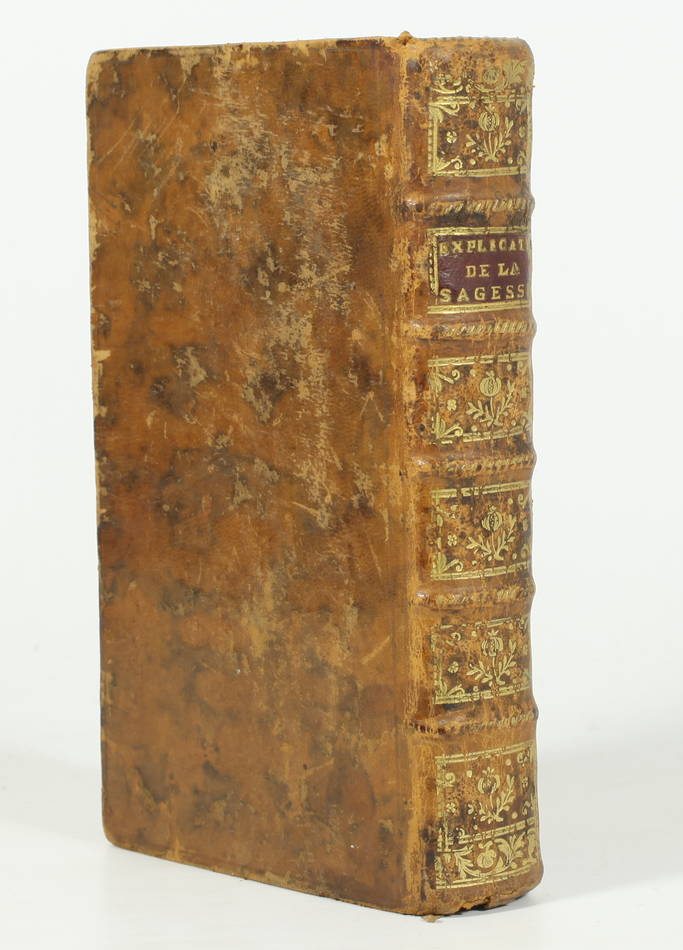 DUGUET et d ASFELD - Explication du livre de la sagesse - 1755 - Photo 0 - livre rare