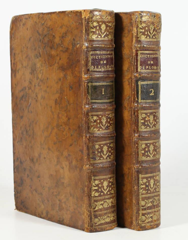 [Ecritures] VAINES - Dictionnaire raisonné de diplomatique 1773 - planches - 2 v - Photo 0, livre ancien du XVIIIe siècle