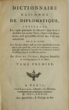 [Ecritures] VAINES - Dictionnaire raisonné de diplomatique 1773 - planches - 2 v - Photo 2, livre ancien du XVIIIe siècle
