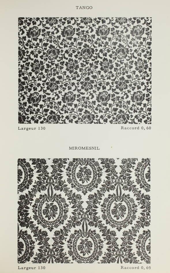 [Tissu, Textiles] Tous les styles en gaufrage - (Vers 1960 ?) - Photo 0, livre rare du XXe siècle