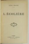 Léon FRAPIE - L écolière - (1905) - Edition originale - Photo 1, livre rare du XXe siècle
